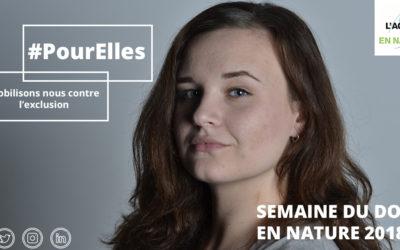 Notre partenaire l'Agence du Don en Nature lance l'opération #PourElles, du 6 au 13 mars